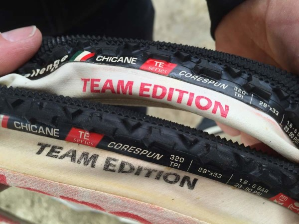 challenge updates all team elite tubular cyclocross tires and adds new Dune sand cx tire