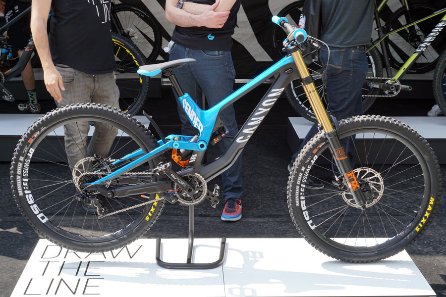All-new Canyon Sender DH mountain bike launches incredibly ...