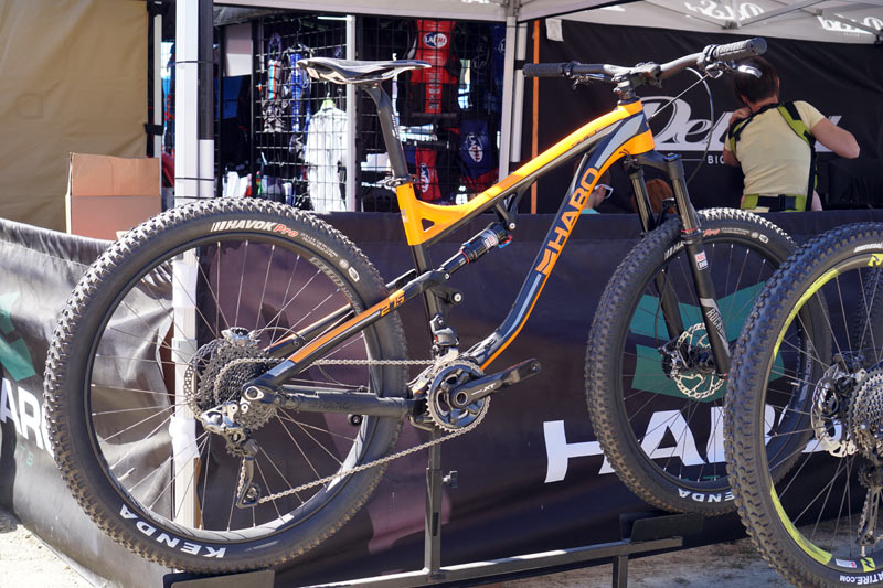 Soc16 Haro Grows A 140mm Travel Mountain Bike Cleans Up