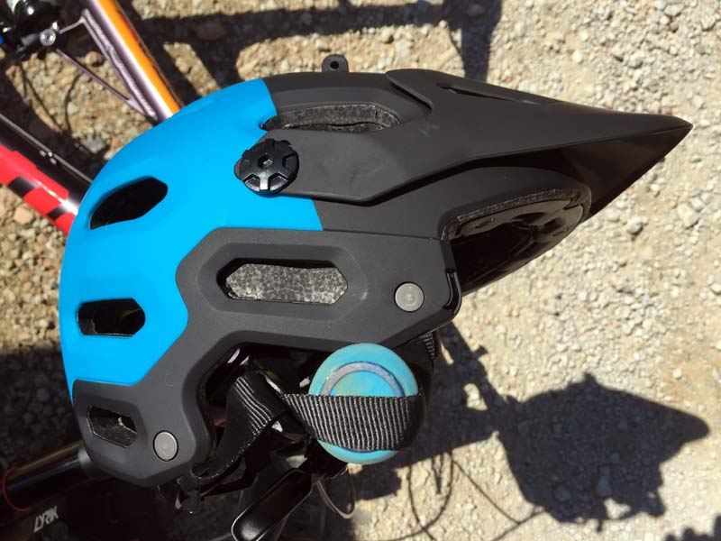 Bell Super 2R enduro mountain bike helmet with removable chin bar