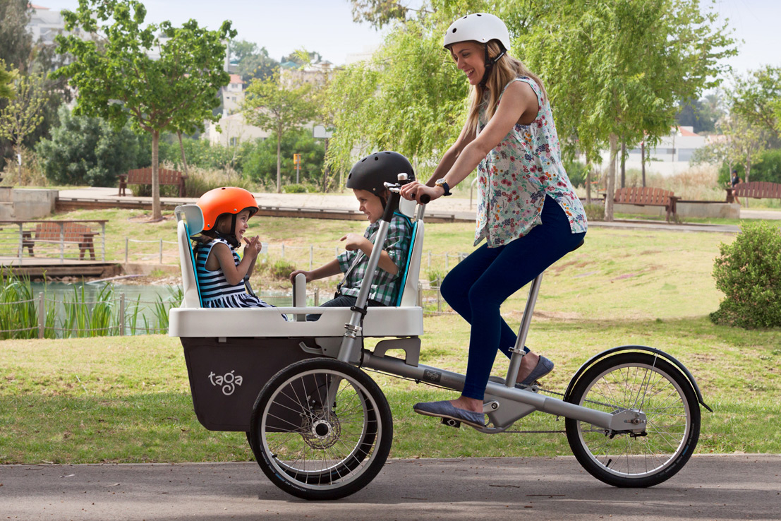 Taga 2 0 Brings Flexible Family Cargo Bike To The Masses