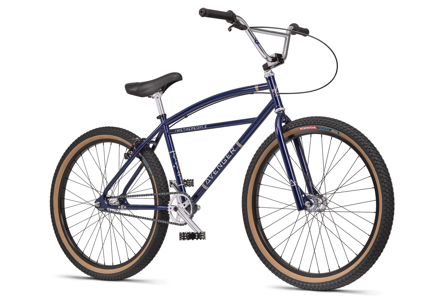 Cruise in classic BMX style on the new WeThePeople 26\