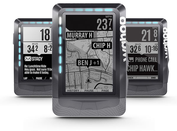 Wahoo ELEMNT GPS cycling computer updated with better ...