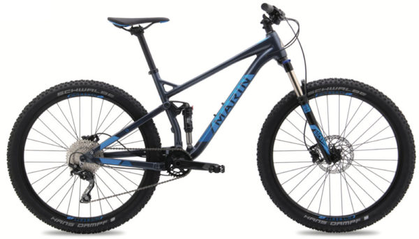 All-new Marin Hawk Hill trail mountain bike drops in with sweet spec, even sweeter price