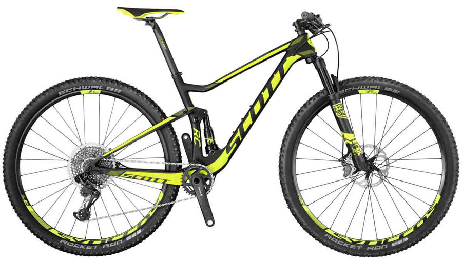 All New 2017 Scott Spark Scale Redefine Lightweight