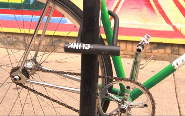 Clink Bike lock with built in tools