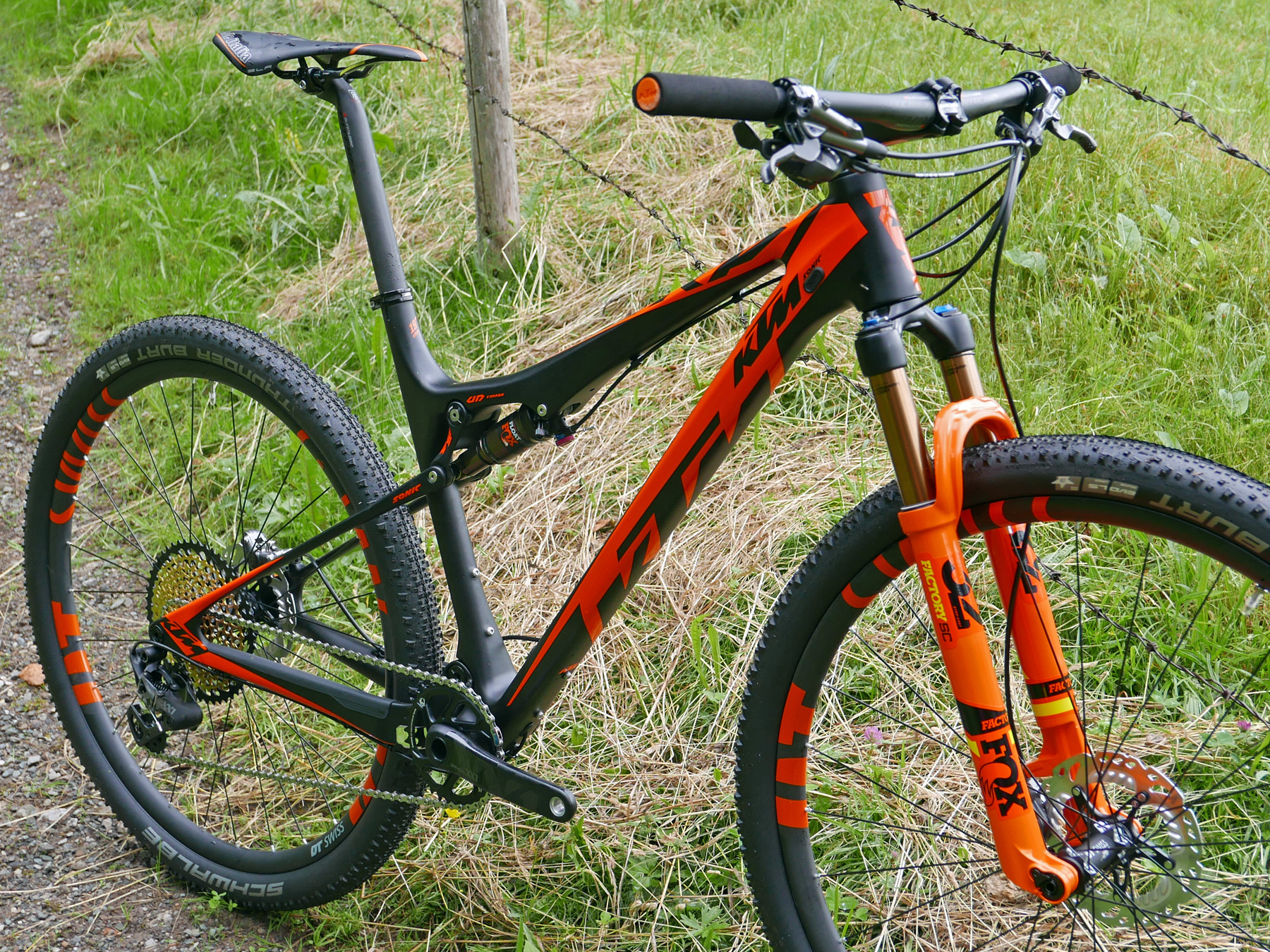 ktm lays up race ready xc full suspension scarp hardtail