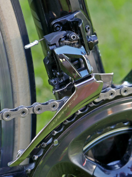 Shimnao_Dura-Ace-R9100_road-component-group_front-derqailleur