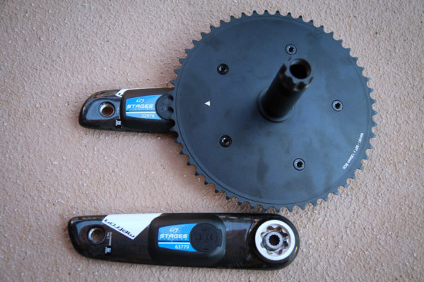 Stages GXP carbon BB30 project 2016 track dual sided power meter