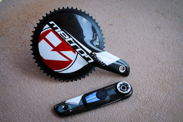 Stages project 2016 track crank dual sided power meter