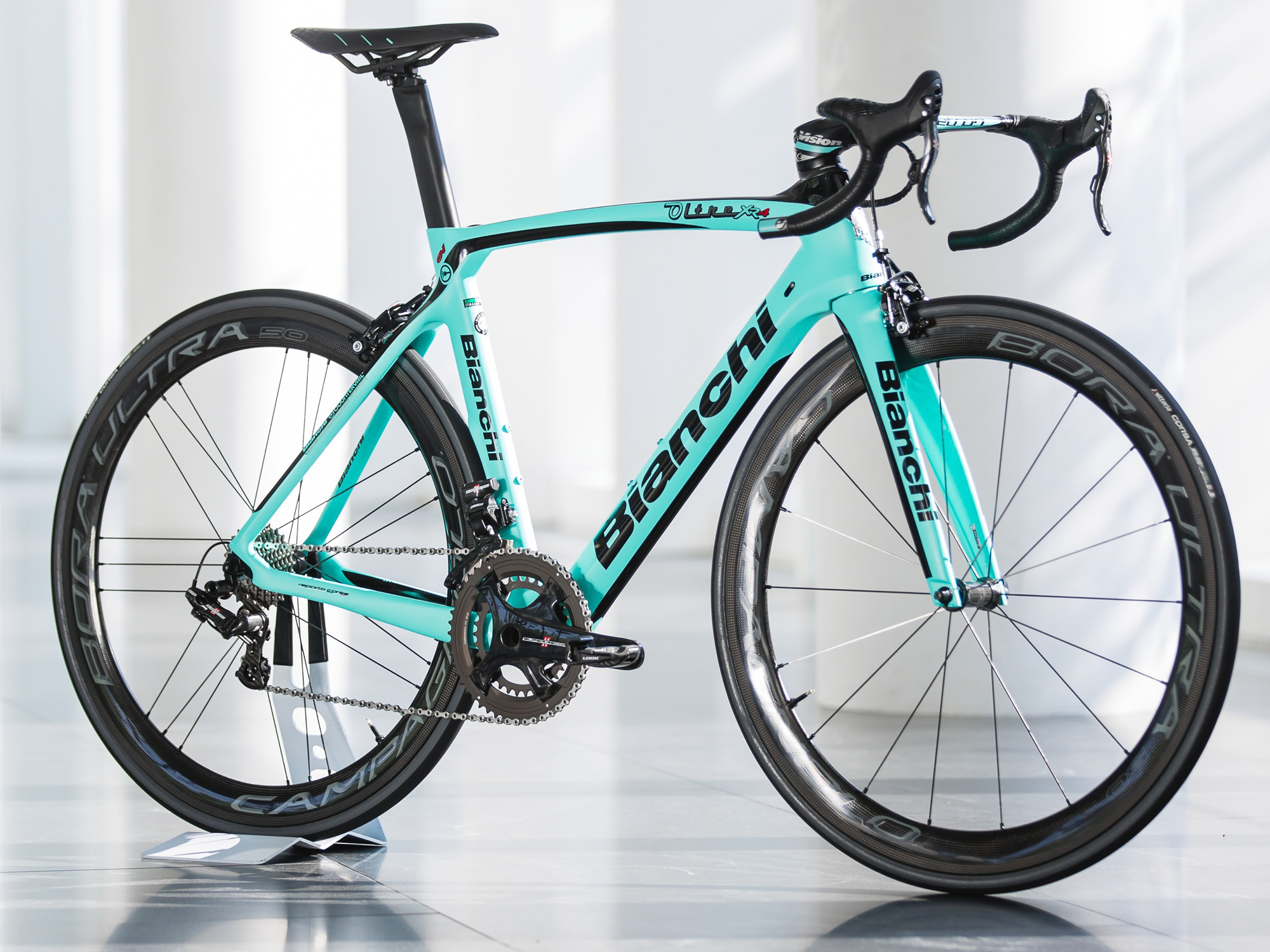 Bianchi smooths the road with Countervail equipped aero ...