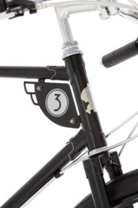 Pashley 90th anniversary Speed 3, number plate