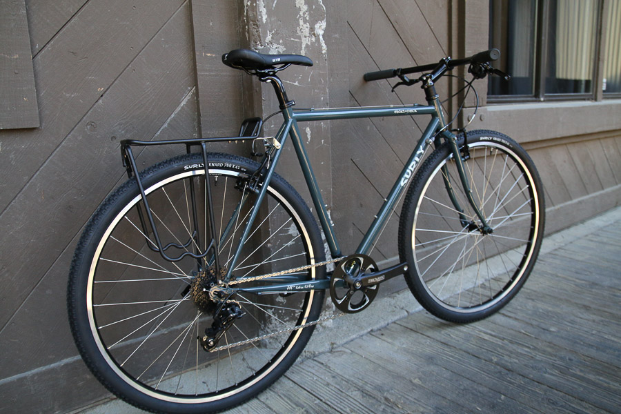 Surly Carries More People And Gear With Flat Bar Cross Check All