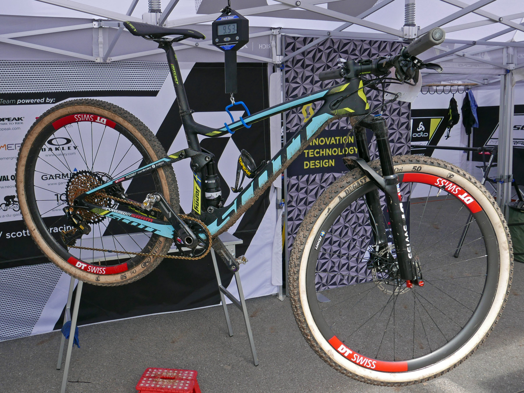 Scott Spark Rc World Cup 2018 >> XC Pro Bike Check: new women's U23 World Champion Jenny Rissveds' Scott Spark RC 700 World Cup ...