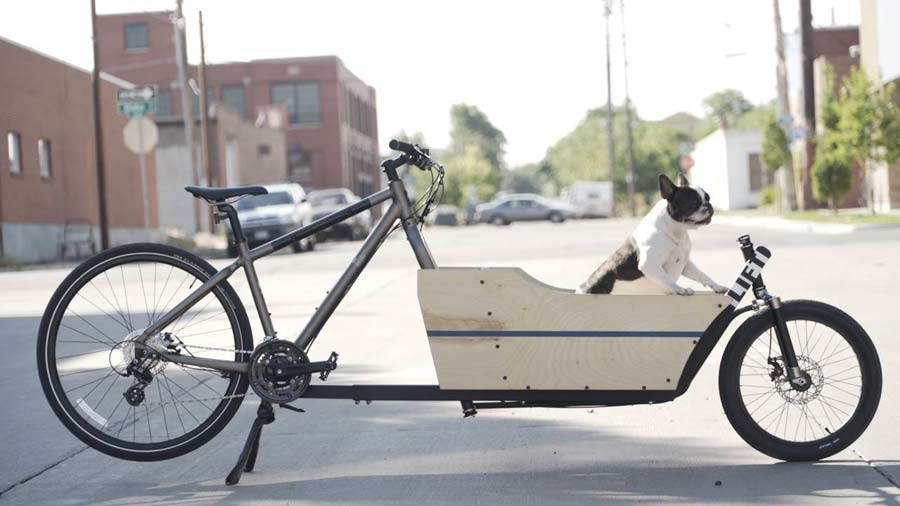 The Lift turns your ordinary bicycle into a front-loading ...