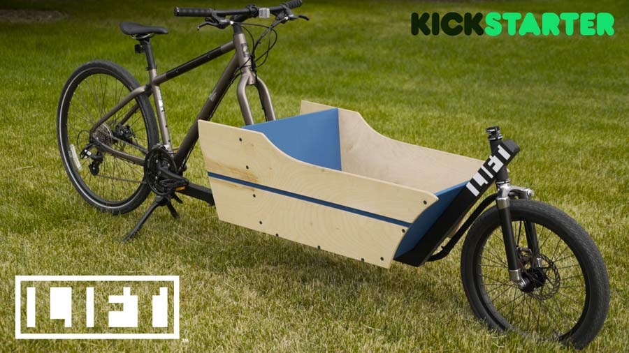 The Lift Turns Your Ordinary Bicycle Into A Front Loading