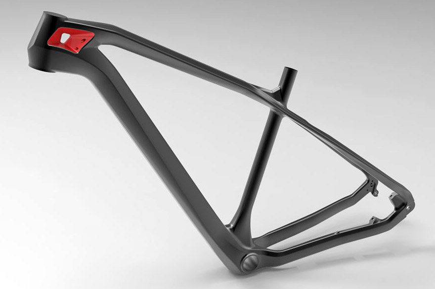 Olympia introduces new F1 Race carbon XC hardtail with a hole in it ...
