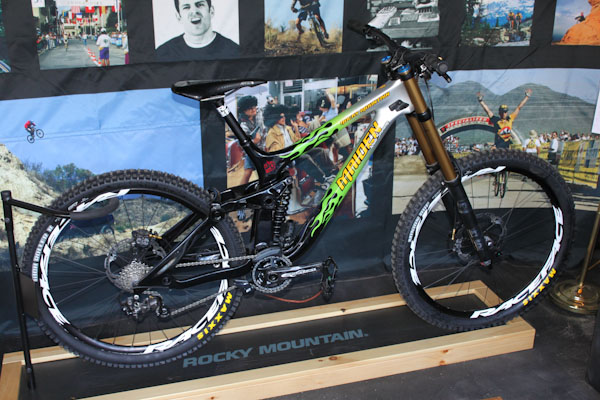 Rocky Mountain Bikes Wade SImmons' 20th anniversary maiden, side