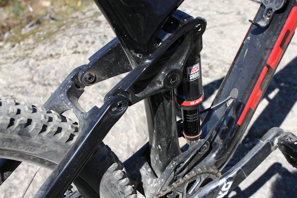 Trek Remedy 9.9 RSL, rocker