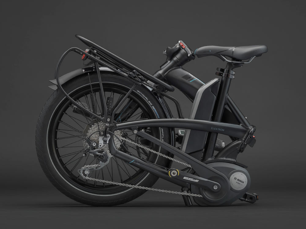 Tern Elektron Powers Up Their Smallest Folding Bike With