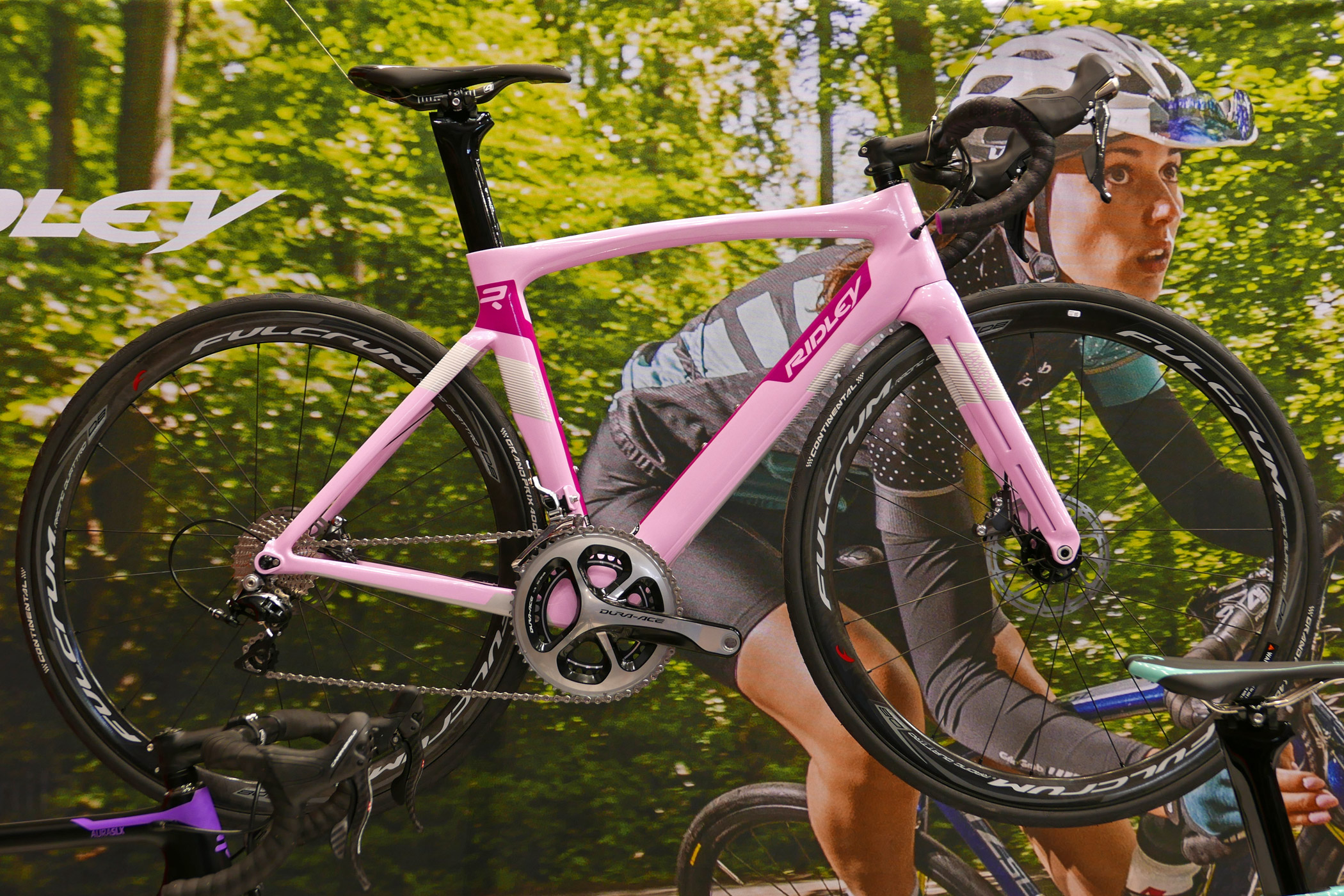 c0e7f514b8c EB16: Ridley introduces new premium race bike range for fast women with  Jane, Aura & Liz