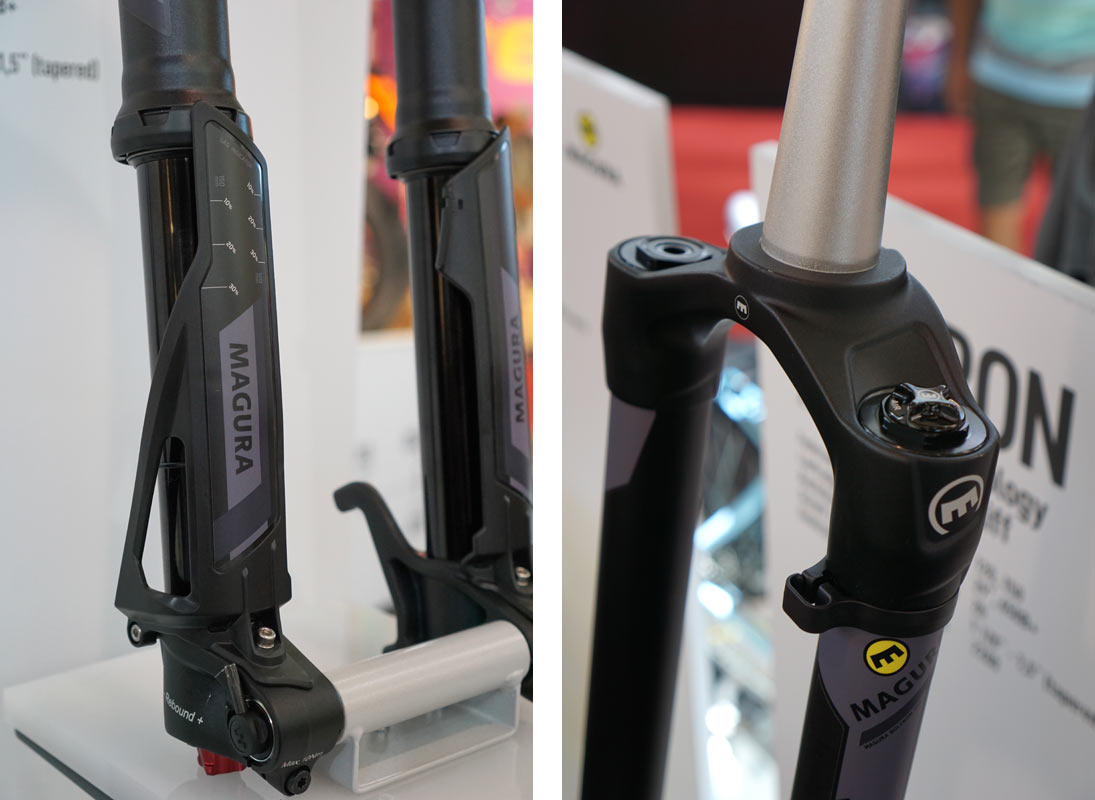 magura boltron upside down e-bike suspension fork could be reworked for enduro