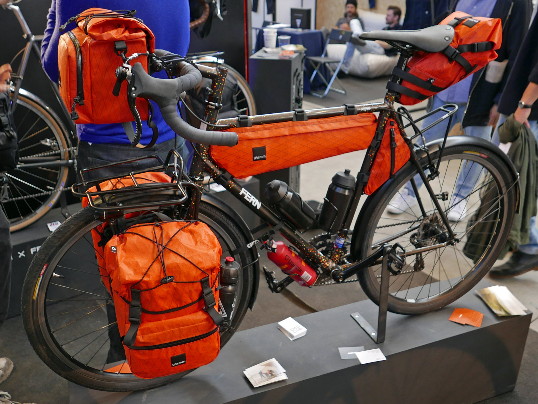 WFS 2016: Gramm packs your gear into every nook, new packs ...