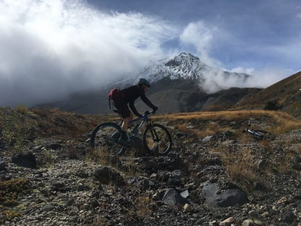 bikerumor pic of the day mount saint helens plains of abraham trail