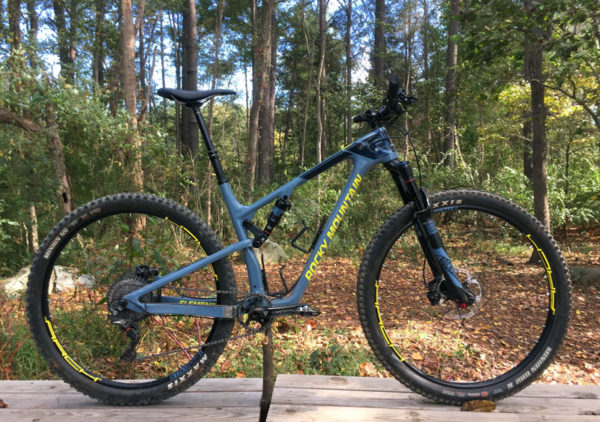 2017 Rocky Mountain Element full suspension XC-trail mountain bike review