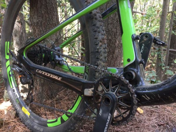 2017 Cannondale Scalpel Si full suspension race mountain bike review