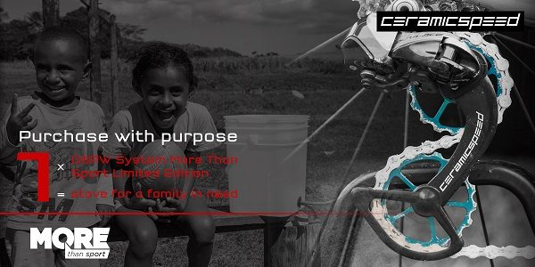 Ceramicspeed limited edition OSPW system, charity promo pic