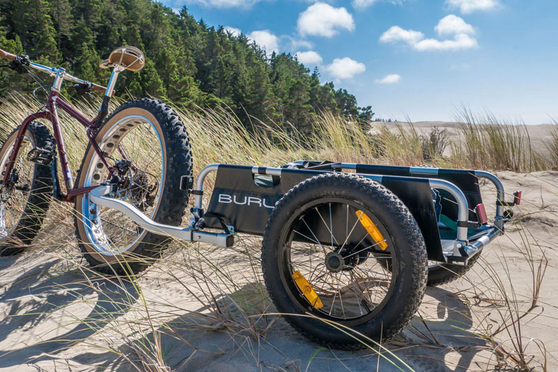 Burley introduces 16+ fat bike tires...for kid haulers ...