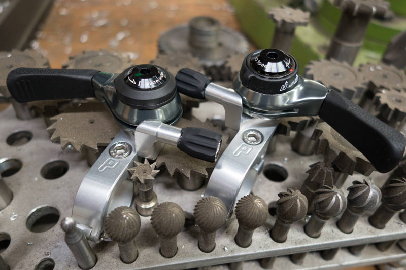 Paul Components Adds Shimano Compatible Mountain Bike Thumbies