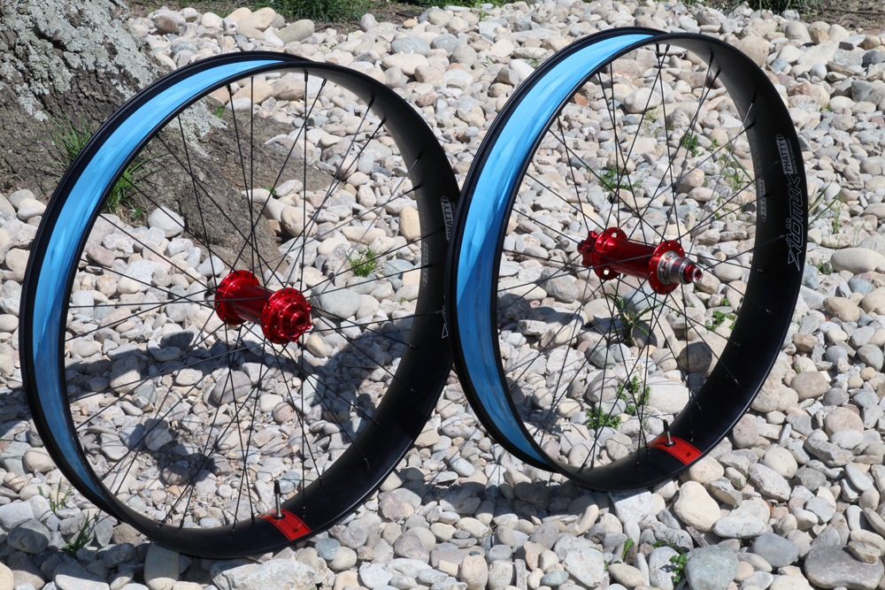 Just In: Atomik Phatty 85 carbon fat bike wheels with Onyx