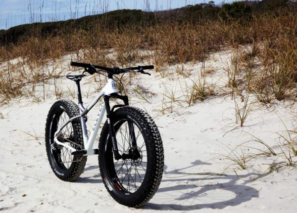Eleven Cycles alloy fat bike is made in Portland Oregon USA