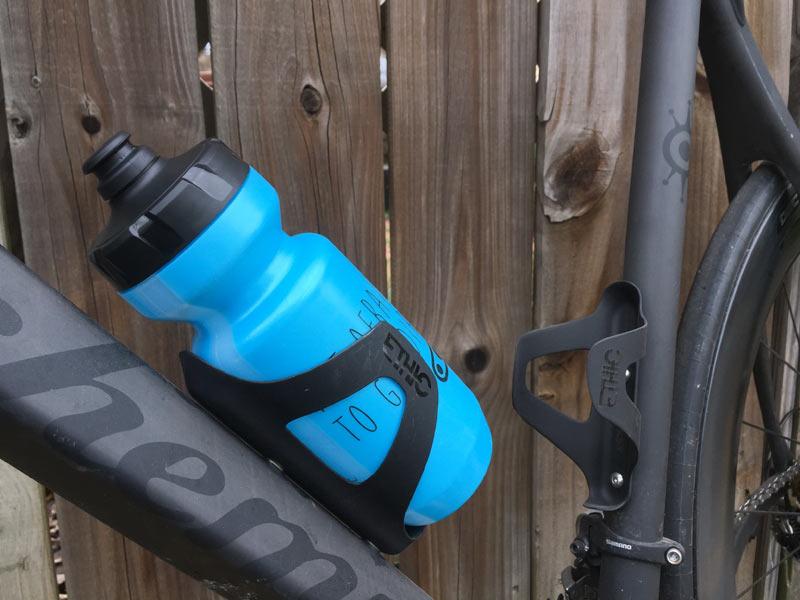 Cycling Bike Side Entry Carbon Cage bottle holder Black No Brand