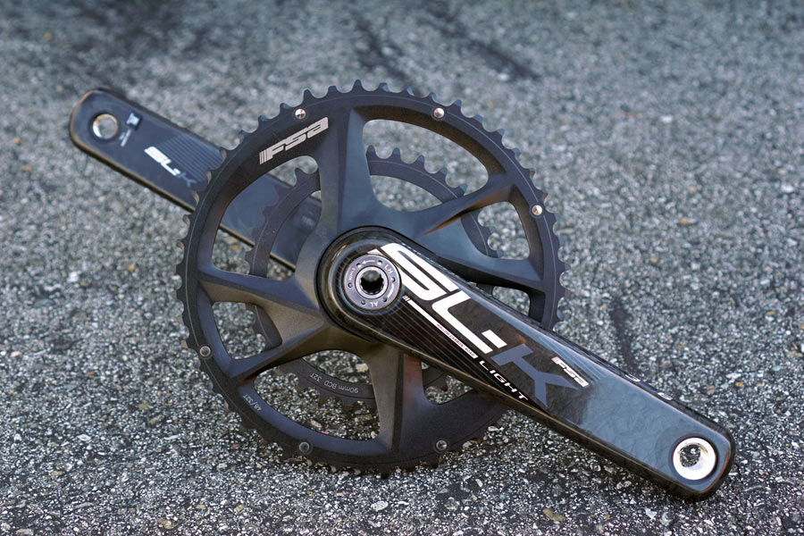 fsa adventure cranks with micro ultra compact gearing