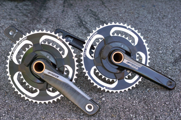 FSA PowerBox power meter cranksets will come with alloy and carbon fiber arm options