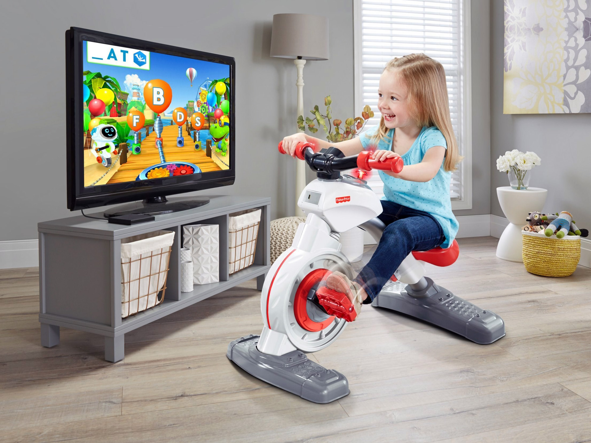Ces2017 Tiny Tots On Turbo Trainers With Fisher Price Think And