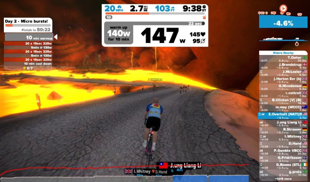 Take a virtual volcano ride vacation with new Zwift