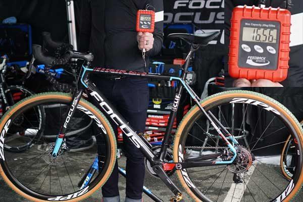 jeremy powers rapha focus mares cx cyclocross race bike actual weight