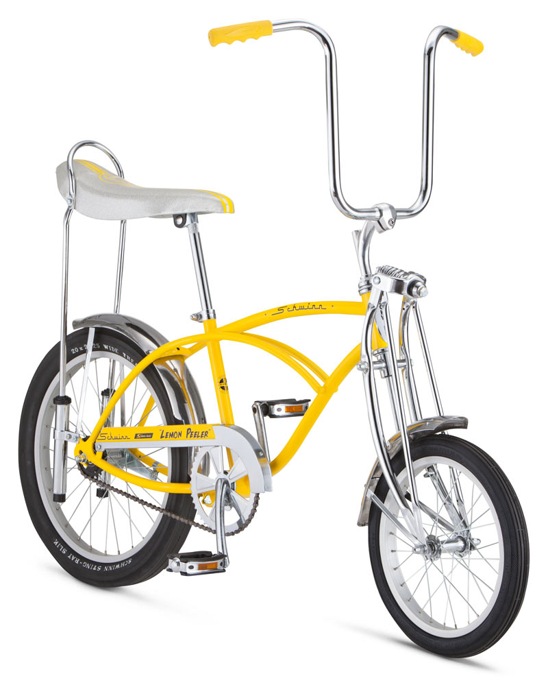 Retro Remake Schwinn Lemon Peeler Stingray Bicycle Slips In