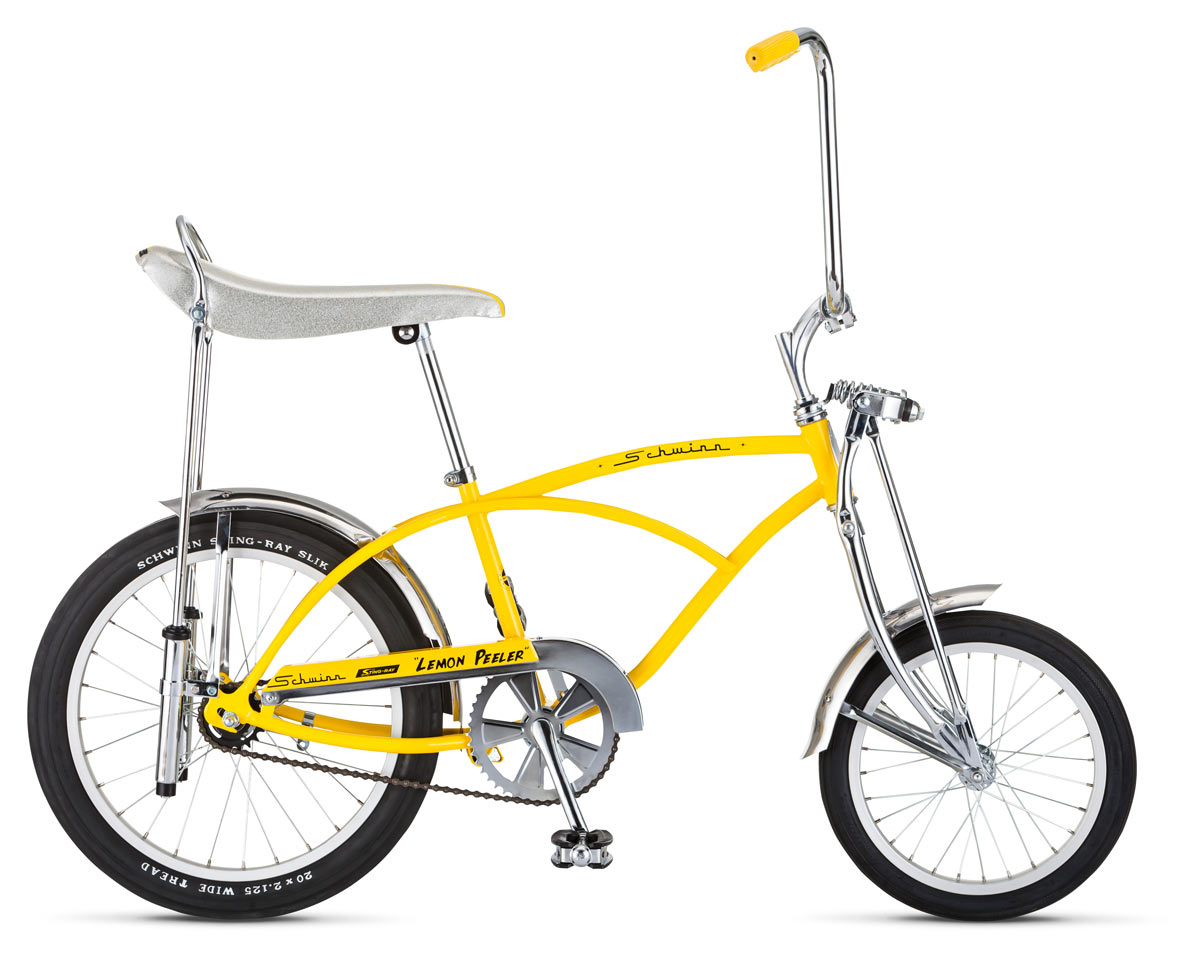 Retro remake Schwinn \'Lemon Peeler\' Stingray bicycle slips in ...