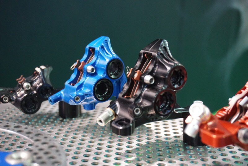 Hope RX 4 Complete Disc Brake Caliper Black for Shimano Road Hydraulic Levers