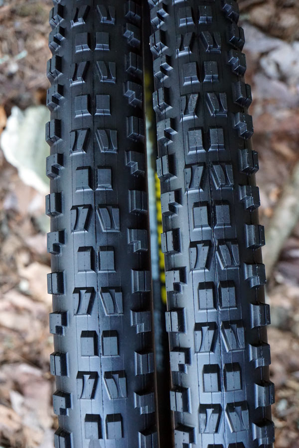 """maxxis minion 2.6"""" wide tires higher volume lower pressures"""