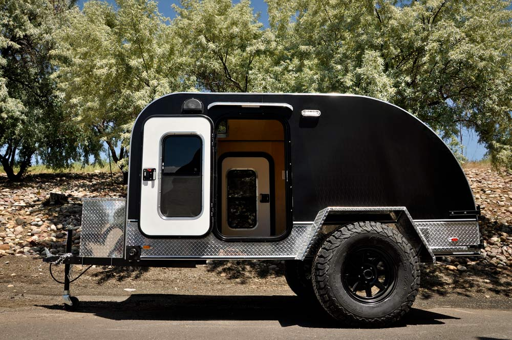 Colorado Teardrops offload camping trailers with full aluminum frames are ready for adventure