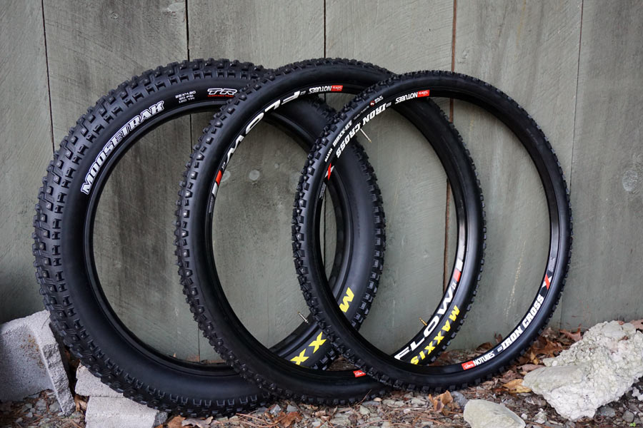 maxxis studded winter bicycle tires for fat bikes mountain bikes and city commuter bicycles