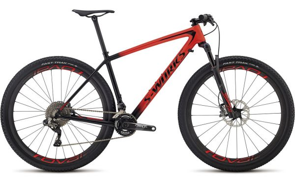 2018 Specialized Epic S-Works hardtail XC race mountain bike is the lightest bike Specialized has ever made