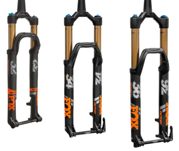 2018 Fox FLOAT 32 34 and 36 suspension forks