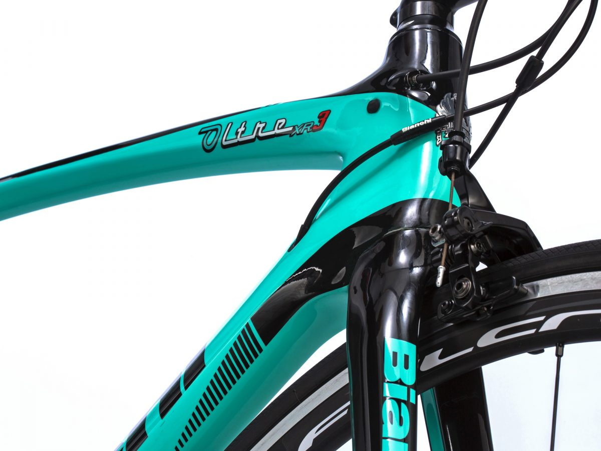 Bianchi Oltre Xr3 Puts Countervail Vibration Damping Into